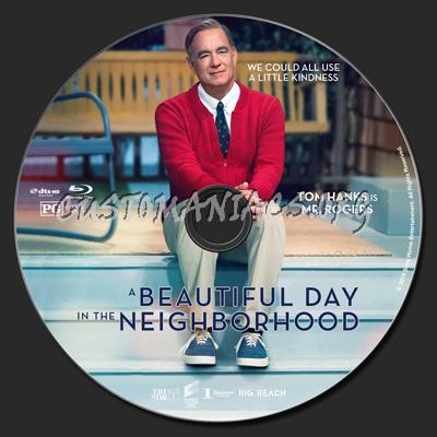 A Beautiful Day In The Neighborhood blu-ray label