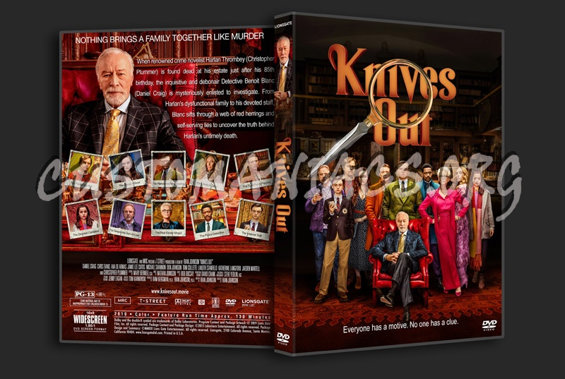 Knives Out dvd cover