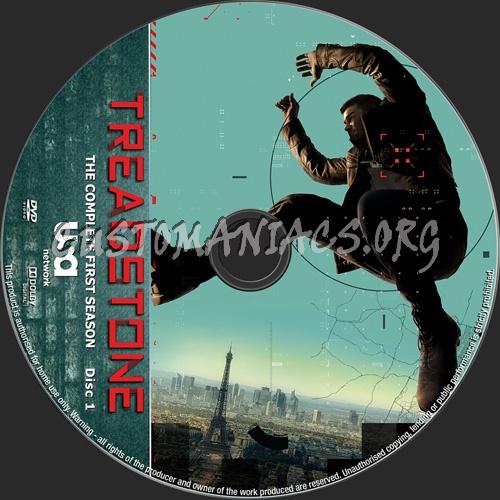 Treadstone Season 1 dvd label