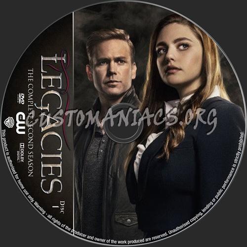 Legacies Season 2 dvd label