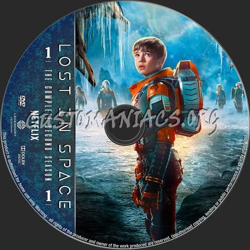 Lost In Space Season 2 dvd label
