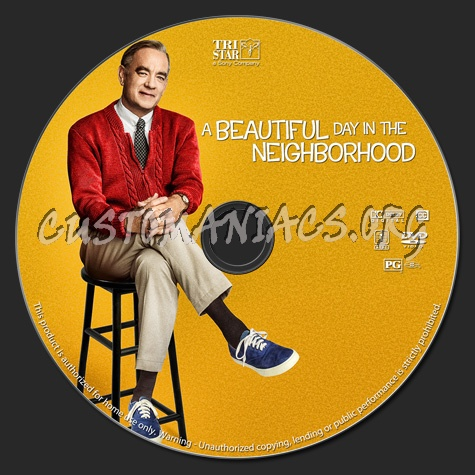 A Beautiful Day in the Neighborhood dvd label