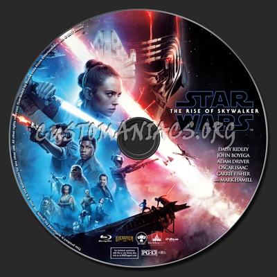Star Wars The Rise Of Skywalker Blu Star Wars The Rise Of Skywalker 2d 3d Blu Ray Label