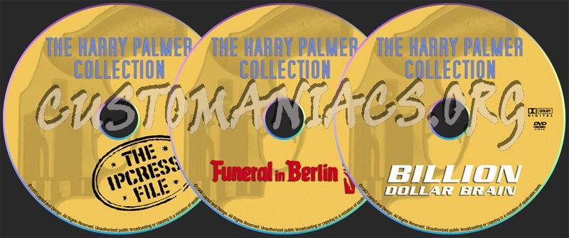 Ipcress File / Funeral in Berlin / Billion Dollar Brain dvd label