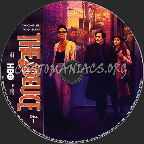 The Deuce Season 3 dvd label