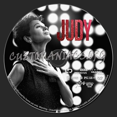 Judy dvd label