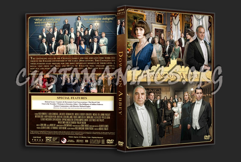 Downton Abbey (2019) dvd cover