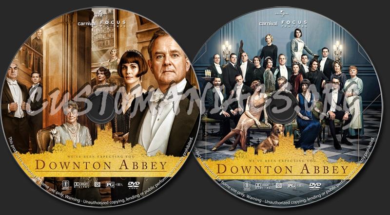 Downton Abbey (2019) dvd label