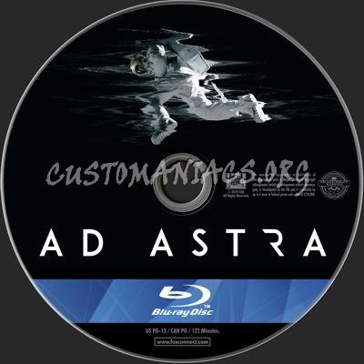 Ad Astra (2019) blu-ray label