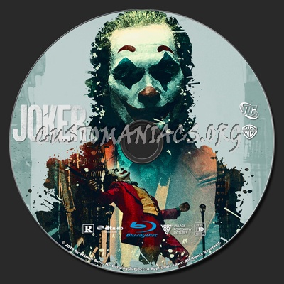 Joker blu-ray label