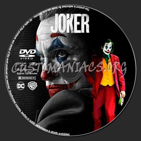 Joker dvd label