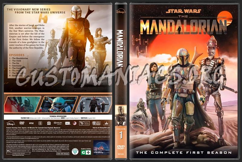 The Mandalorian - Season 1 dvd cover