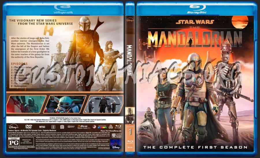 The Mandalorian - Season 1 blu-ray cover