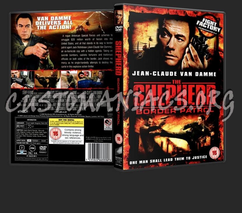 The Shepherd: Border Patrol dvd cover
