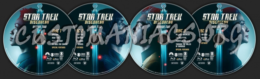 Star Trek: Discovery - Season 2 blu-ray label
