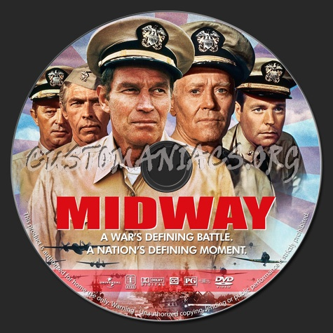 Midway (1976) dvd label