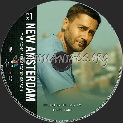 New Amsterdam Season 2 dvd label