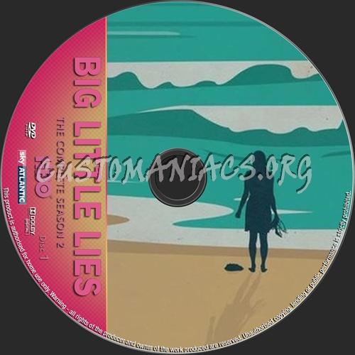 Big Little Lies Season 2 dvd label