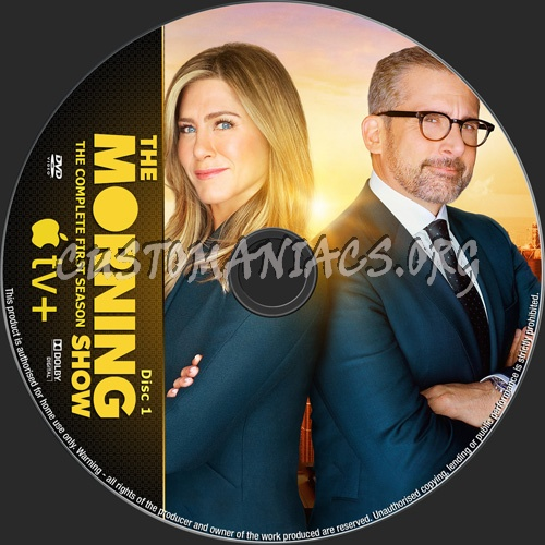 The Morning Show Season 1 dvd label