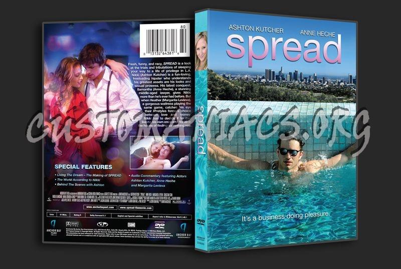 Spread dvd cover