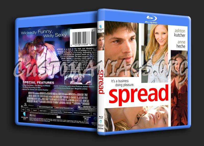 Spread blu-ray cover