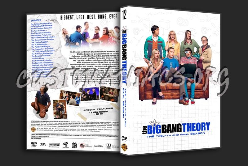 The Big Bang Theory Season 12 dvd cover