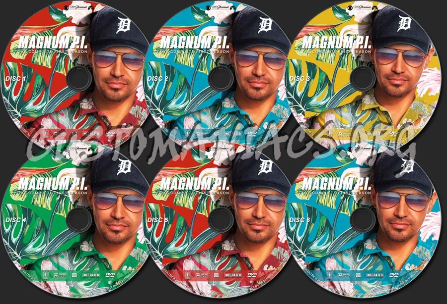 Magnum P.I. - Season 1 dvd label