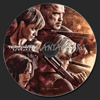 Terminator: Dark Fate (2019) blu-ray label