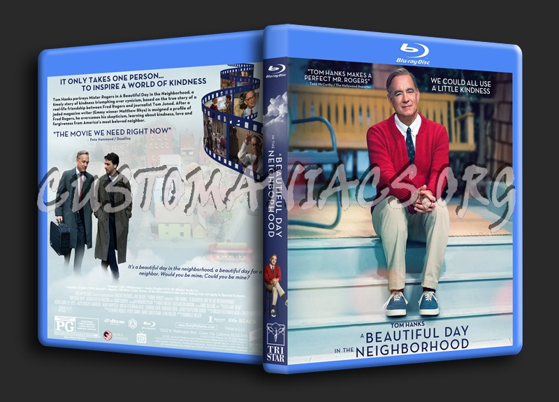 A Beautiful Day In The Neighborhood blu-ray cover