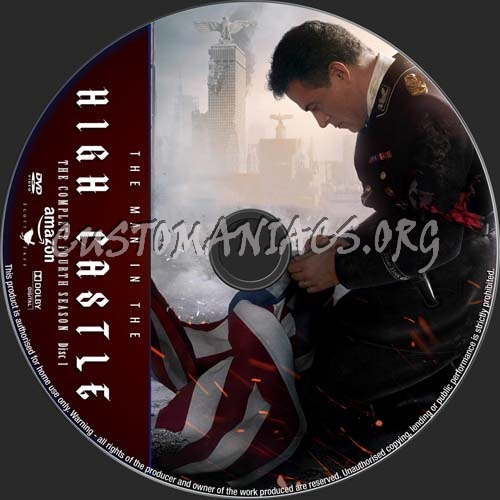 The Man In The High Castle Season 4 dvd label