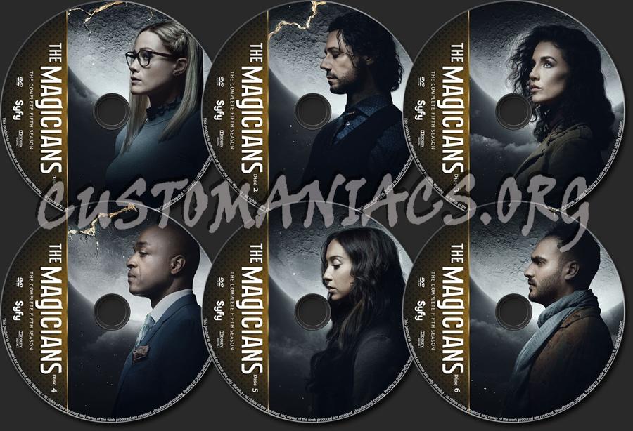 The Magicians Season 5 dvd label
