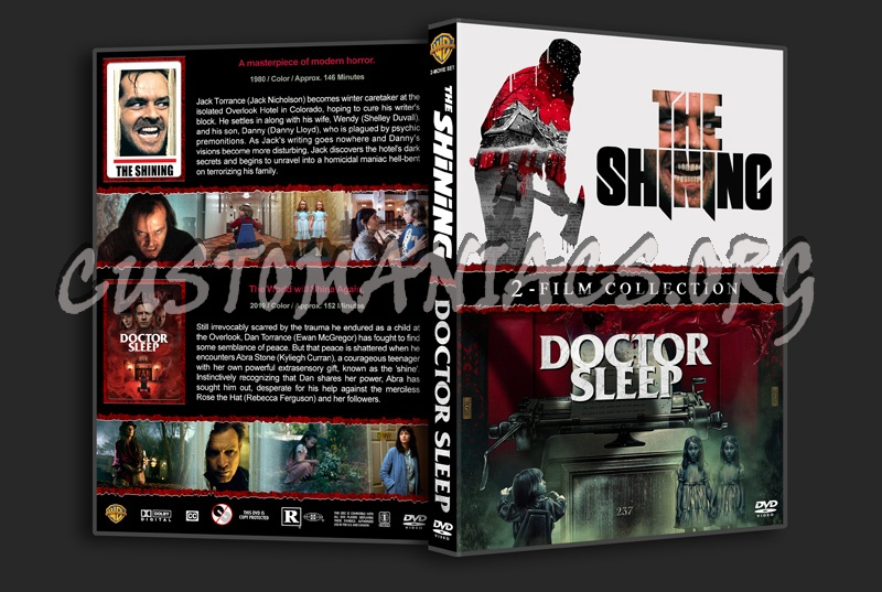 The Shining / Doctor Sleep Double Feature dvd cover