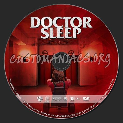 Doctor Sleep dvd label