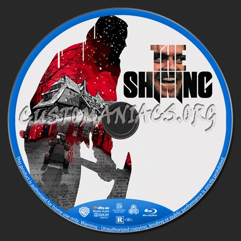 The Shining blu-ray label