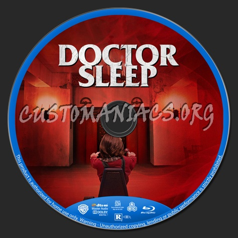 Doctor Sleep blu-ray label