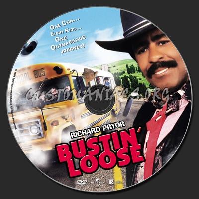Bustin' Loose (1981) dvd label