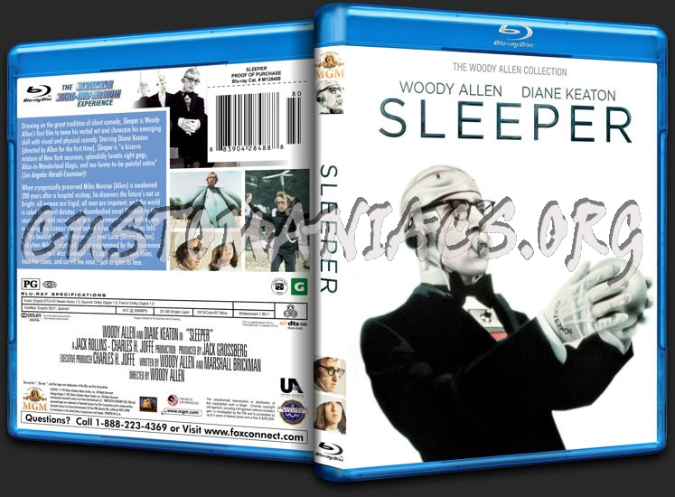 Sleeper (1973) blu-ray cover