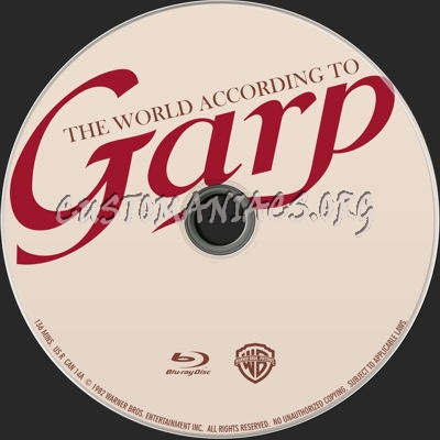 The World According to Garp (1982) blu-ray label