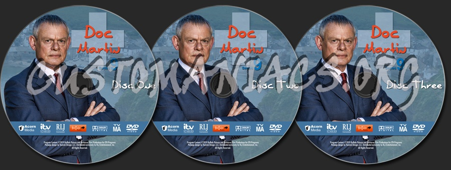 Doc Martin - Series 9 dvd label