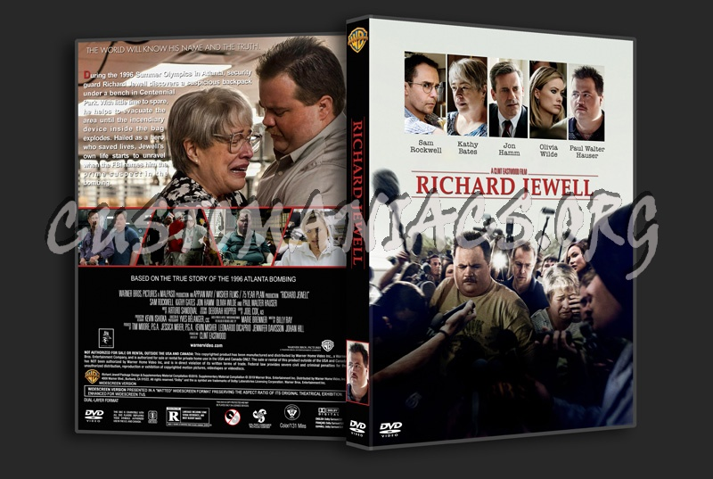 Richard Jewell dvd cover