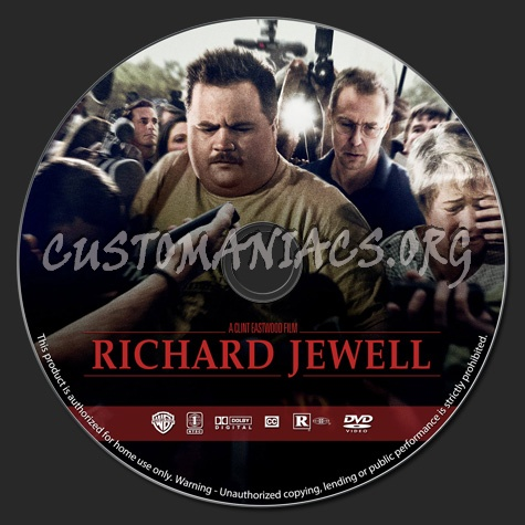 Richard Jewell dvd label