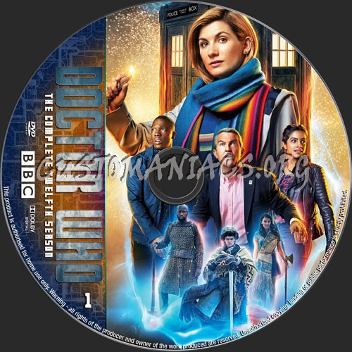 Doctor Who Season 12 Dvd Label Dvd Covers Labels By Customaniacs Id 261337 Free Download Highres Dvd Label