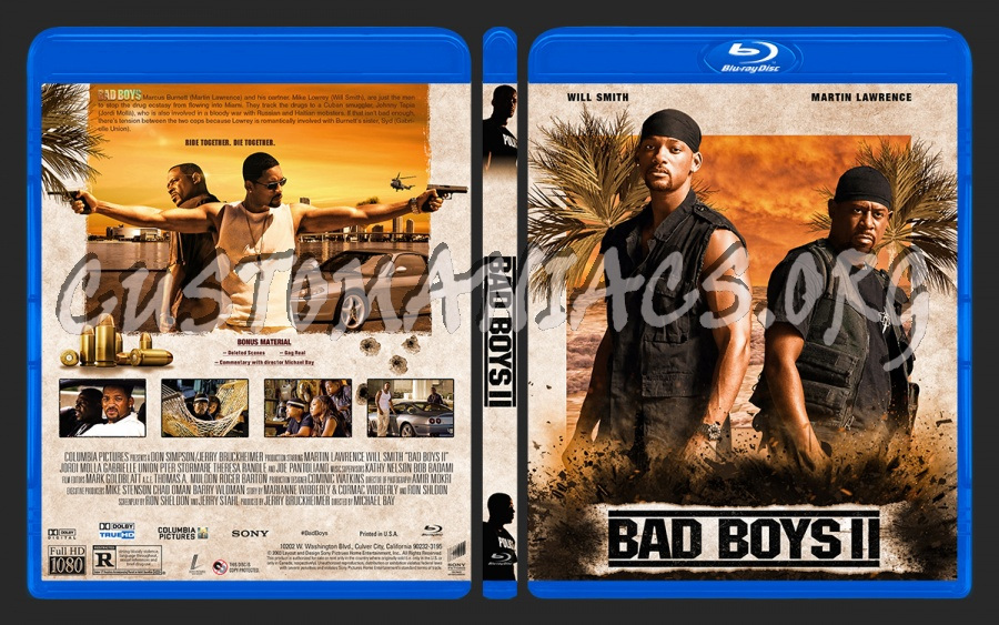 Bad Boys Ii 2003 Blu Ray Cover Dvd Covers Labels By Customaniacs Id 261351 Free Download Highres Blu Ray Cover