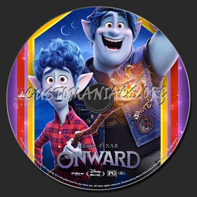 Onward blu-ray label
