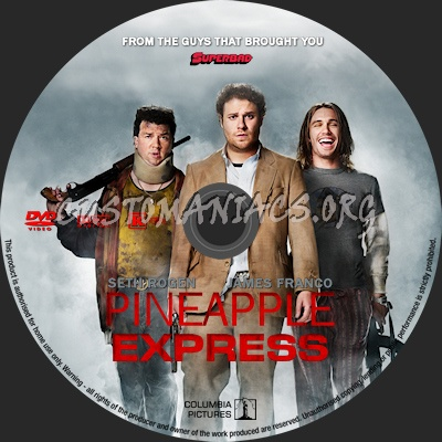Pineapple Express dvd label