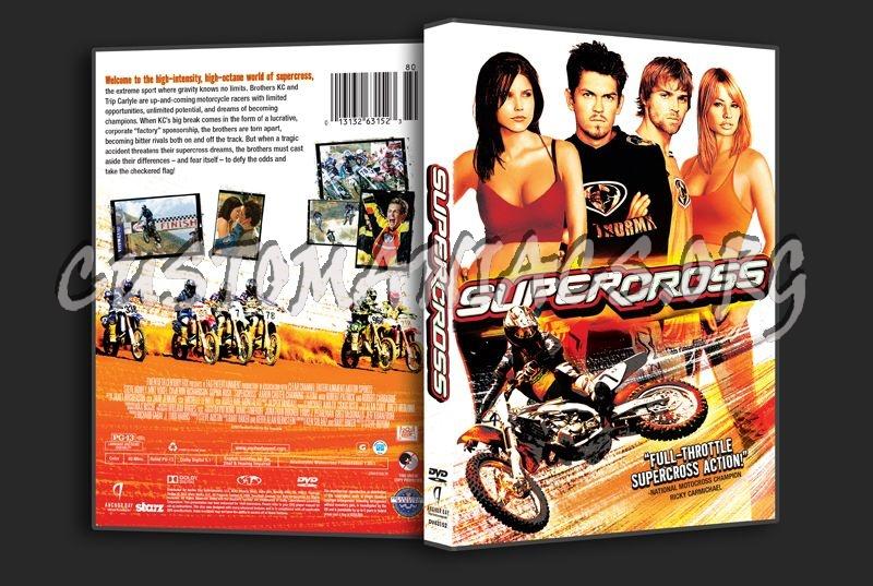 SuperCross dvd cover