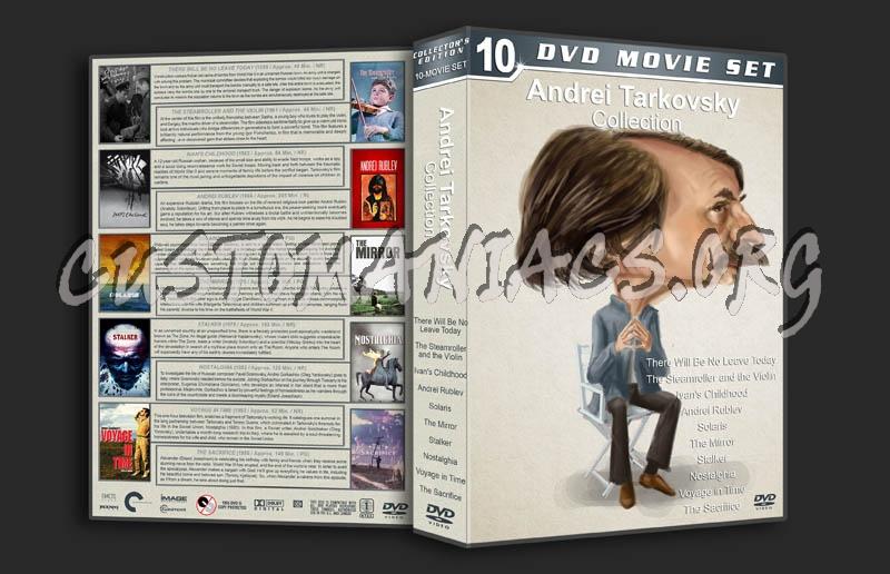 Andrei Tarkovsky Collection dvd cover