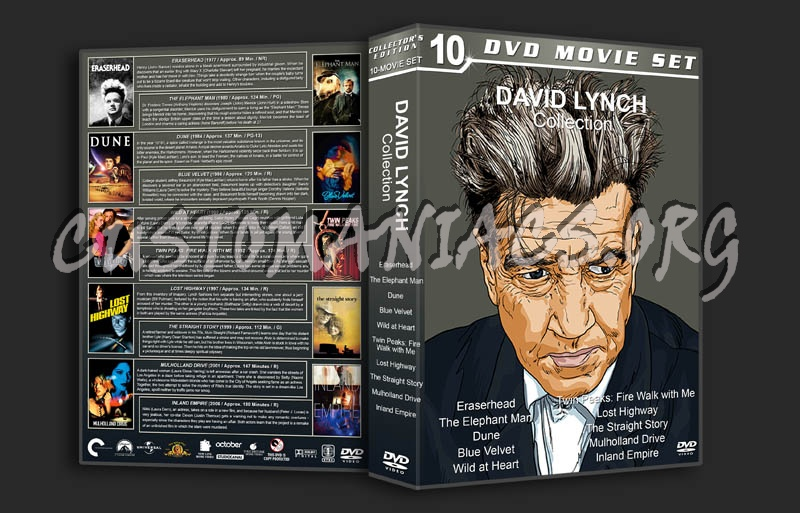 David Lynch Collection dvd cover