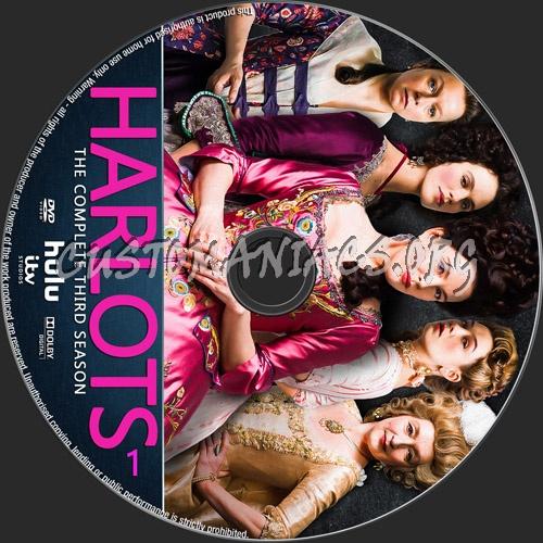 Harlots Season 3 dvd label
