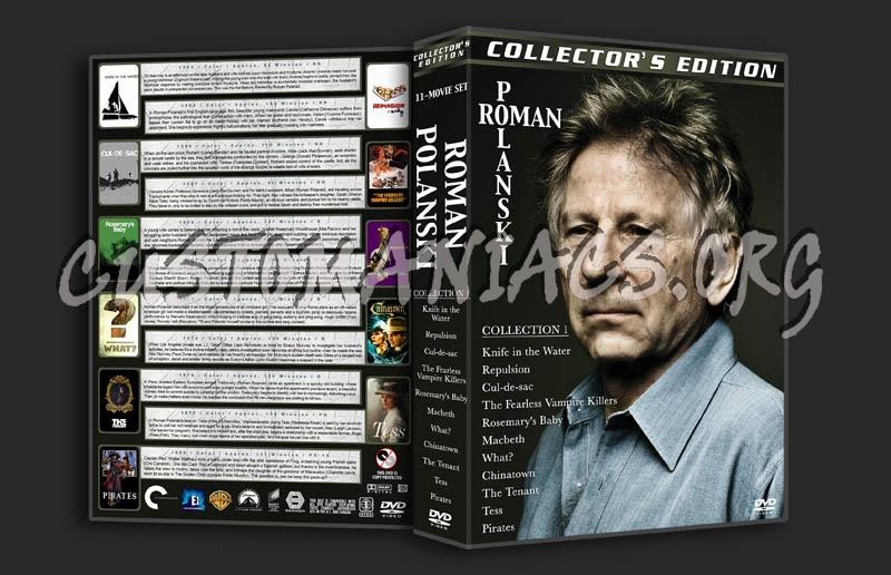 Roman Polanski Collection 1 dvd cover